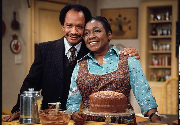 Actors Sherman Hemsley and Isabel Sanford, The Jeffersons.  Hemsley died July 24, 2012