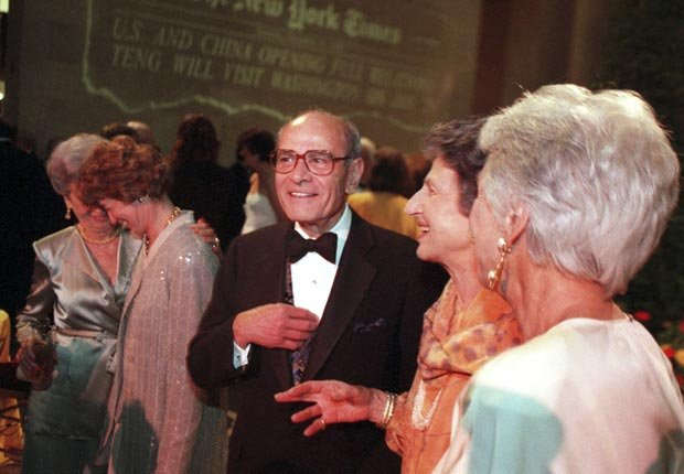 Arthur Ochs Sulzberger, New York Times publisher