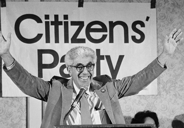 Dr. Barry Commoner, Citizens' Party Presidential nominee, 1980