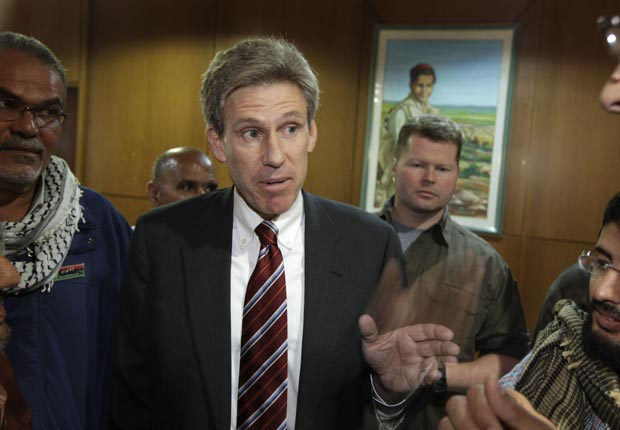 J. Christopher Stevens, US Ambassador to Libya