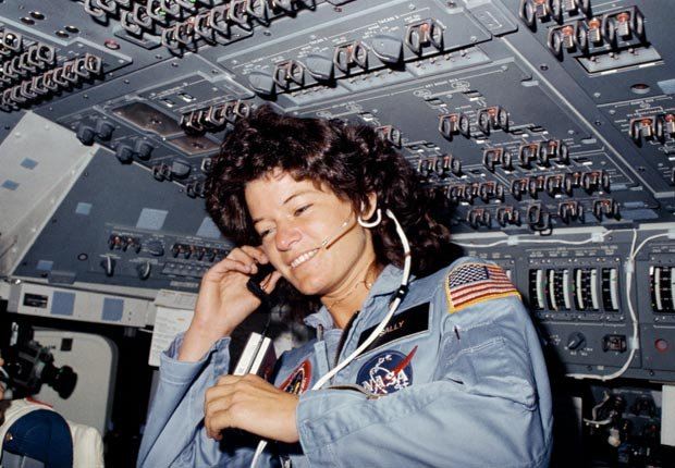 Sally Ride, Astronaut