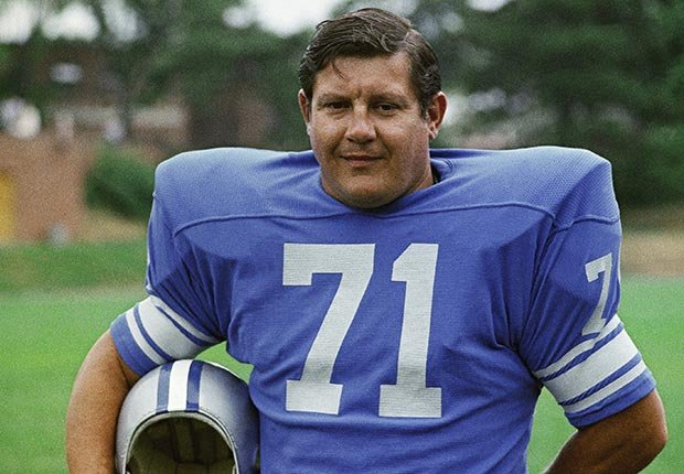 Alex Karras Detroit Lions all pro lineman