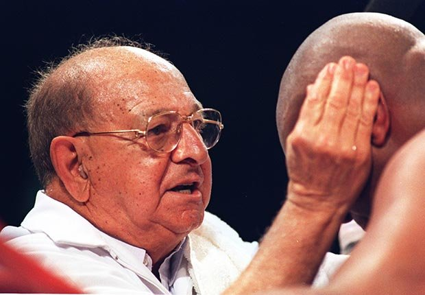 Angelo Dundee trainer boxing heavyweight