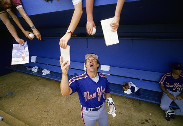 Gary Carter baseball mets autograph