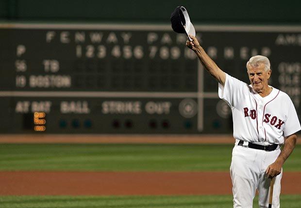 Johnny Pesky Red Sox baseball dedication death 2012