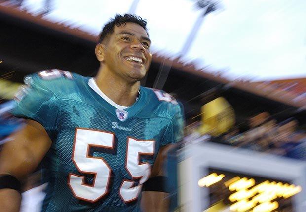 Junior Seau football linebacker Dolphins