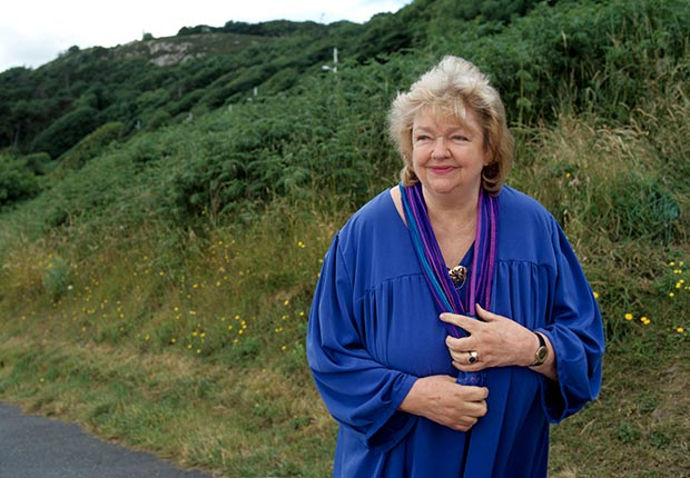 Maeve Binchy, Author.