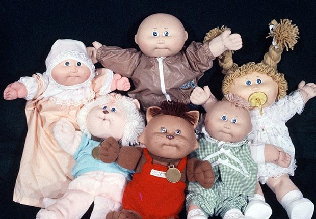 Cabbage Patch dolls and other Christmas Crazes of the past.