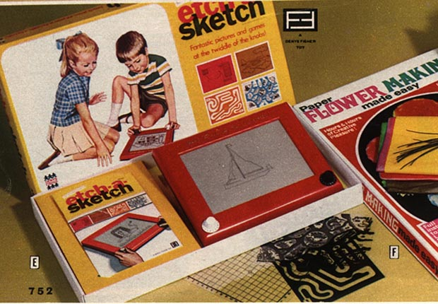 Etch-A-Sketch and other Christmas Crazes of the past.