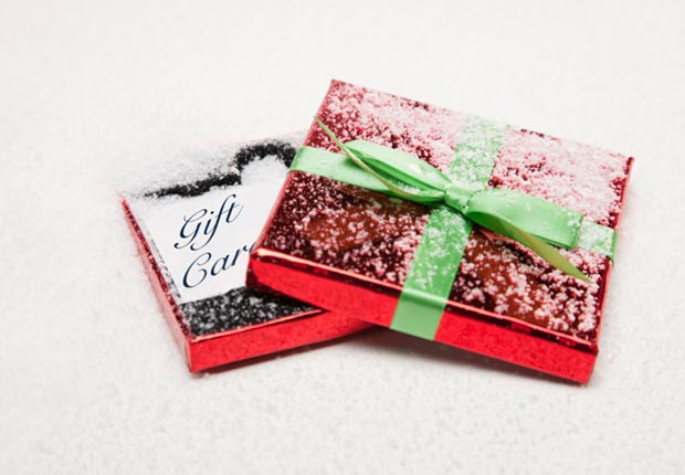 Gift cards and other Christmas Crazes of the past.