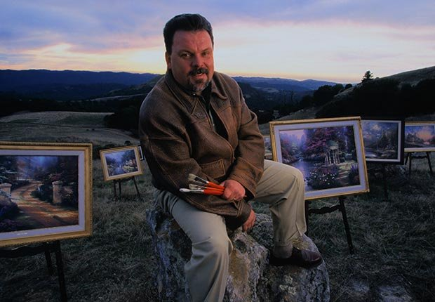 Thomas Kinkade, Painter