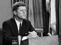 El presidente John Kennedy hizo una emisión televisada a nivel nacional sobre los derechos civiles en la Casa Blanca, 11 de junio 1963 - Acontecimientos de hace 50 años