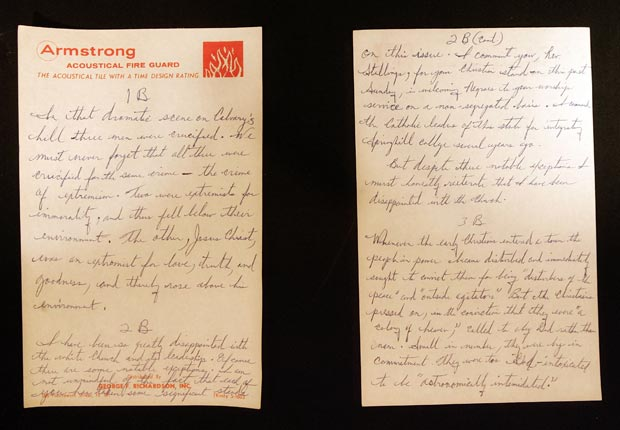 civil rights 1963 events Letter Birmingham Jail MLK