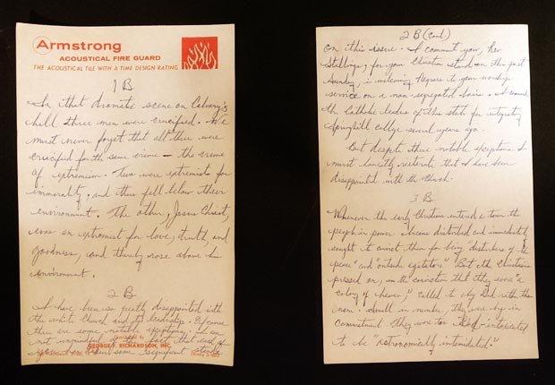 civil rights 1963 events Letter Birmingham Jail MLK