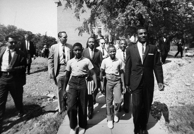 civil rights 1963 events school integration