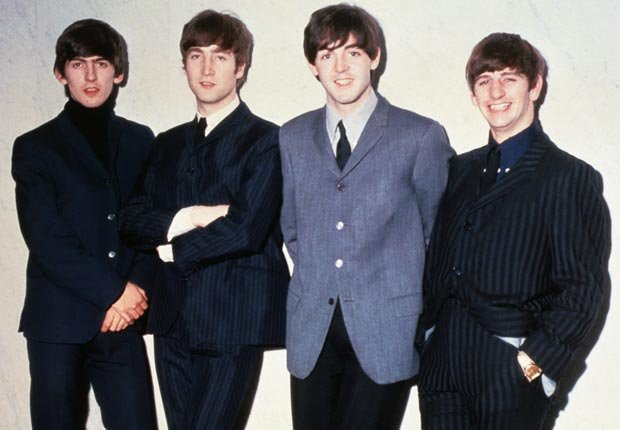 Beatles john paul george and ringo 1963