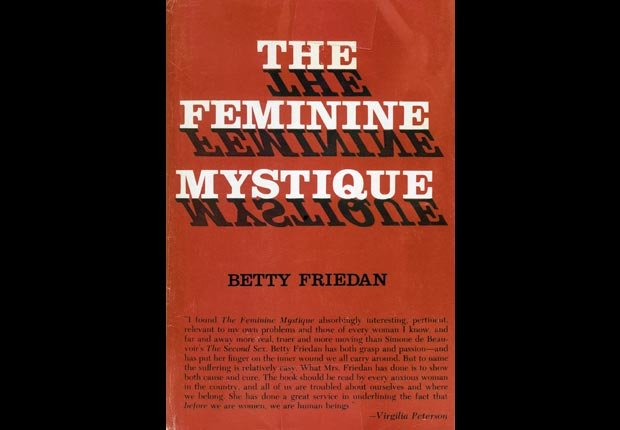 Betty Friedan Feminine Mystique 1963 book feminism