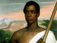 AMistad slave rebellion joseph cinque sengbe pieh new haven connecticut ship jailed trial Africa