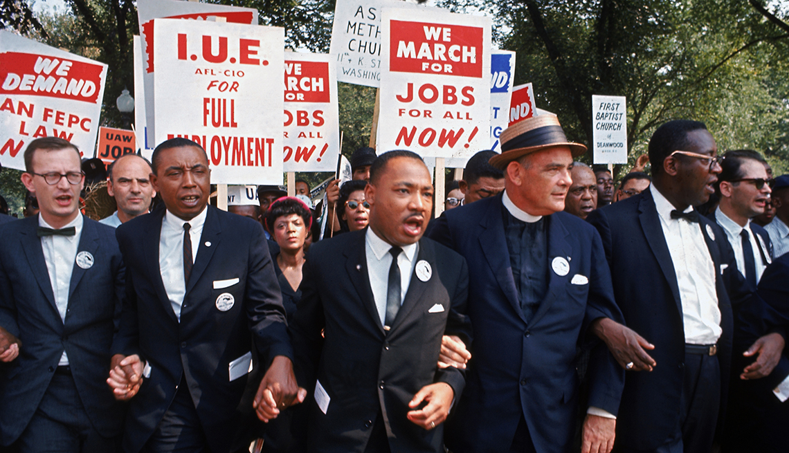 Martin Luther King Jr., March for Jobs and Freedom, Voices of Civil Rights