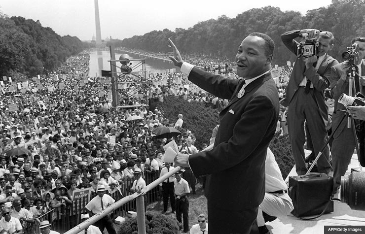 Martin Luther King Jr. I have a dream (AFP/Getty Images)