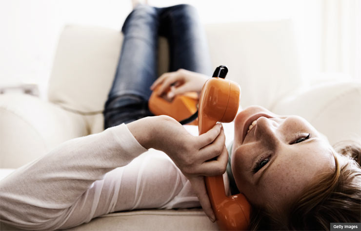 millennials use cell phones instead of landlines (Getty Images)