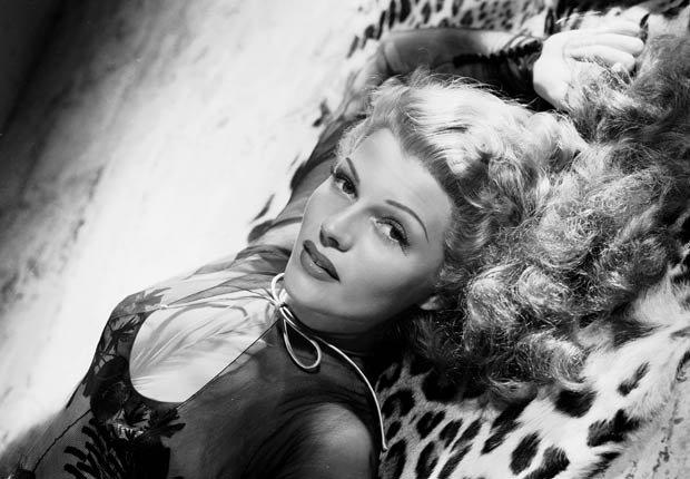 Actriz Rita Hayworth