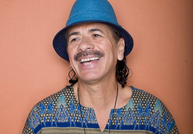 Músico Carlos Santana