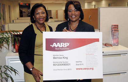 Bernice King, AARP