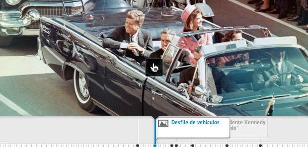Limosina de John F. Kennedy el día de su asesinato - Cronología del asesinato de John F. Kennedy