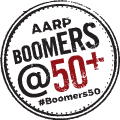 AARP Boomers at 50 Plus logo