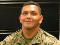 Luis Daniel Almaguer, Sargento de los Infantes de Marina, Guerra de Irak.