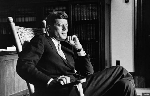 El presidente John F. Kennedy (1917-1963)