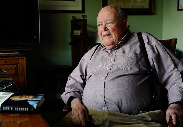 Jack Germond, Obits 2013: Newsmakers (Kenneth K. Lam/Baltimore Sun/MCT via Getty Images)