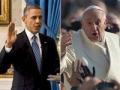 Presidente Obama y el Papa Francisco