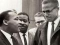 Malcolm X y Martin Luther King en Washington, D.C., 50 Aniversario de la Ley de Derechos Civiles de 1964