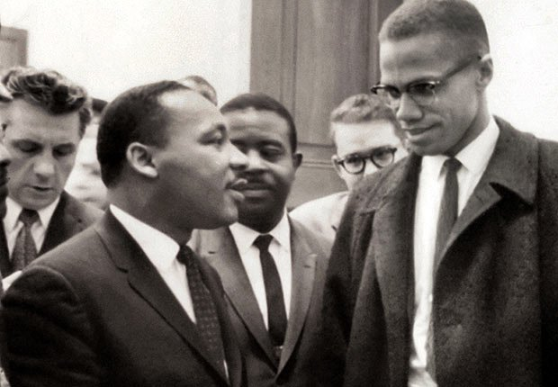 Malcolm X y Martin Luther King se reúnen en Washington, DC - 50 Aniversario de la Ley de Derechos Civiles de 1964