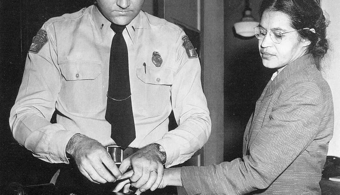 Rosa Parks, Women Civil Rights leaders, Black History Month, 1955 arrest