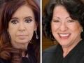 Cristina Fernández de Kirchner y Sonia Sotomayor - 25 Las mujeres maduras que gobiernan el mundo
