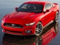 the newly redesigned 2014 Ford Mustang. The iconic car will celebrate its 50th anniversary on April 17, 2014