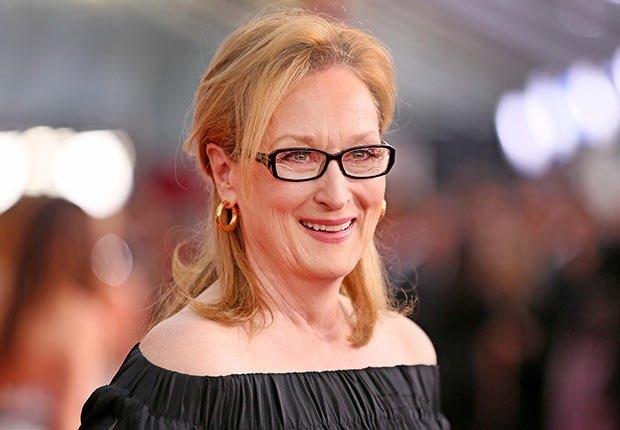 Actriz Meryl Streep - 25 mujeres maduras que gobiernan el mundo