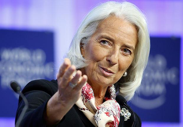 Christine Lagarde, managing director of the International Monetary Fund (IMF)