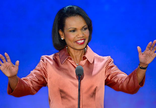 Former Secretary of State Condoleezza Rice