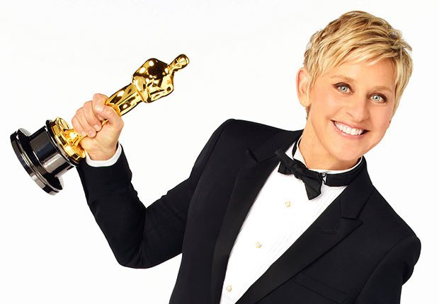 Ellen DeGeneres, actress, comedian, daytime TV host and LBGT activist
