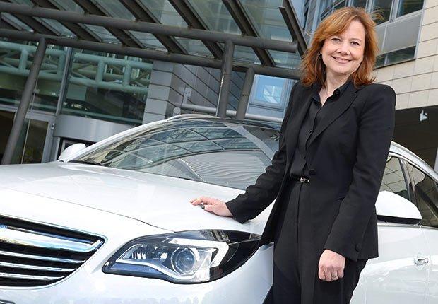 Mary Barra, Directora Ejecutiva de General Motors - 25 mujeres maduras que gobiernan el mundo