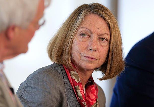Jill Abramson, directora ejecutiva de The New York Times - 25 mujeres maduras que gobiernan el mundo