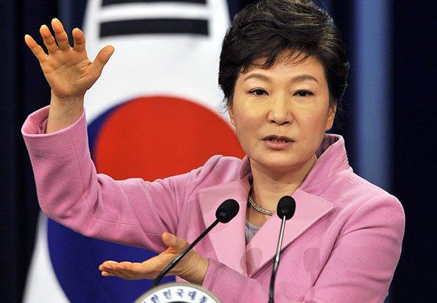 Park Geun-Hye, presidente surcoreana - 25 mujeres maduras que gobiernan el mundo