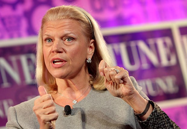 Chairwoman and CEO of IBM Ginni Rometty