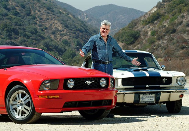Jay Leno road tests the latest Mustang GT