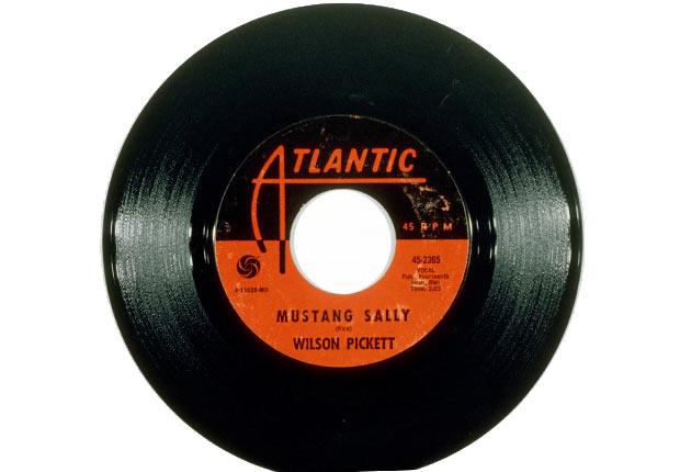 The record for soul singer Wilson Pickett's