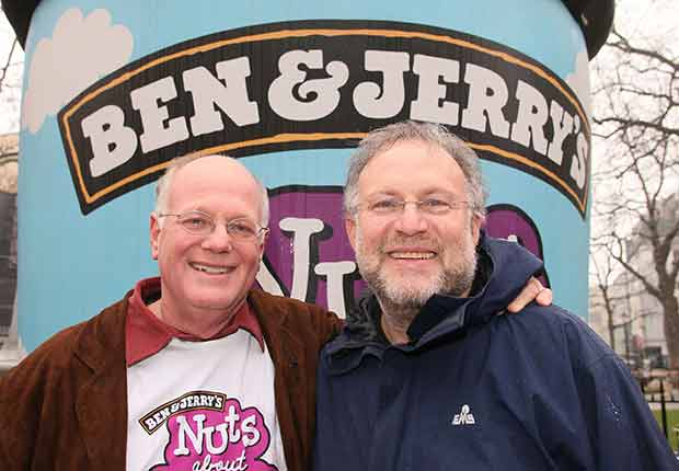Vermont: Ben Cohen and Jerry Greenfield. 50 Boomers, 50 States.